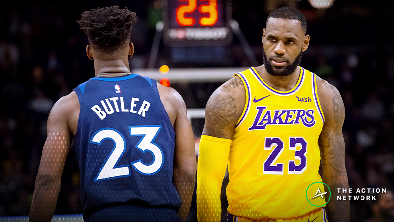 Wolves-Lakers Betting Preview: How to Play This Matchup of Bad ATS Teams article feature image
