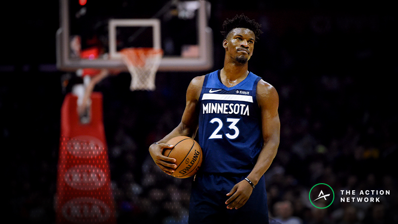 Jimmy Butler Trade Boosts 76ers' NBA Title Odds article feature image