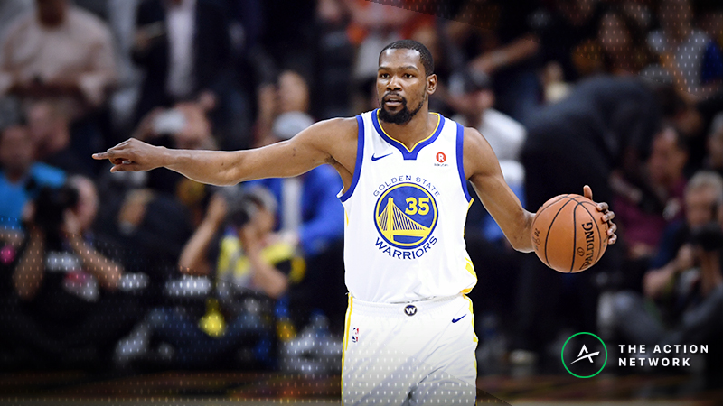 2018-19 NBA MVP Model: Kevin Durant Takes the Lead article feature image