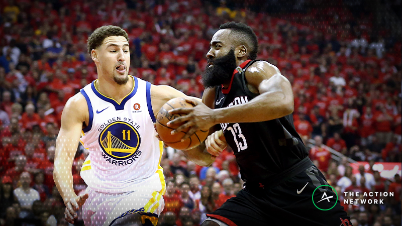 Warriors-Rockets Betting Preview: Should Houston Really Be Favored? article feature image