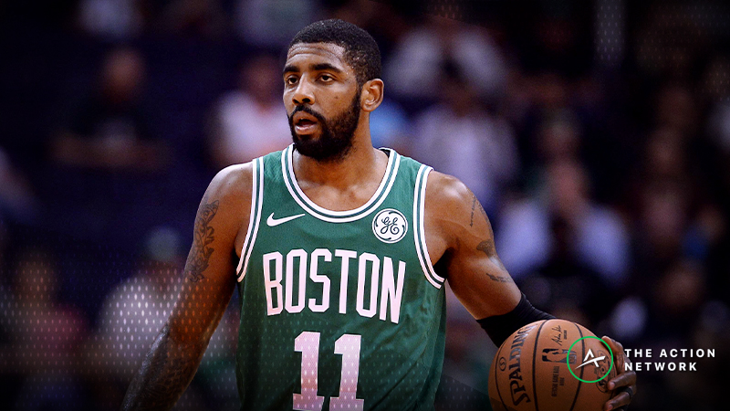 NBA Injury Report: Betting, DFS Impact of Kyrie Irving, Goran Dragic Absences article feature image
