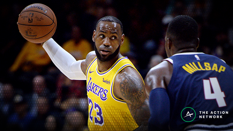 Lakers-Nuggets Betting Preview: Target the Over/Under article feature image