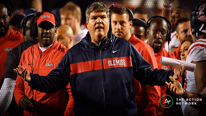 Winless ATS in the SEC? Ole Miss Looks to Avoid Gambling History in Egg Bowl article feature image