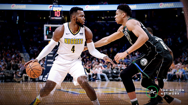 Bucks-Nuggets Betting Guide: What History Tells Us About Teams on Denver Back-To-Backs article feature image