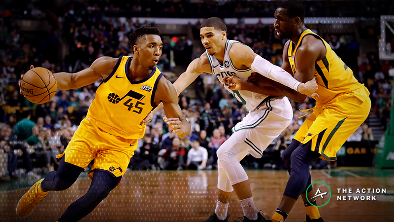 Moore's Celtics-Jazz Preview: Finding an Edge With Two Flawed Teams article feature image