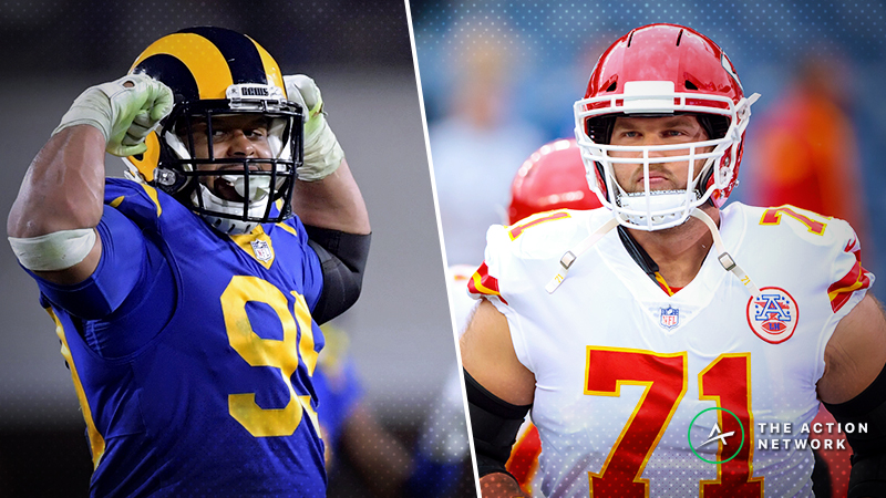 Schwartz's Trench Report: How I'm Betting the Chiefs-Rams Over/Under article feature image