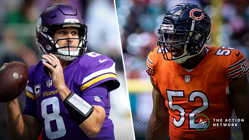 Week 11 NFL Picks Straight Up: Experts Disagree on Vikings-Bears, Chiefs-Rams article feature image