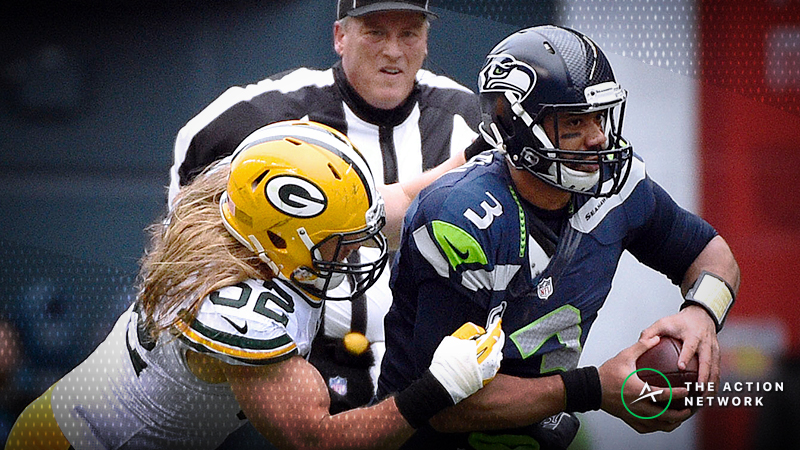 Best Packers-Seahawks TNF Props: Over/Under 5.5 Total Sacks? article feature image
