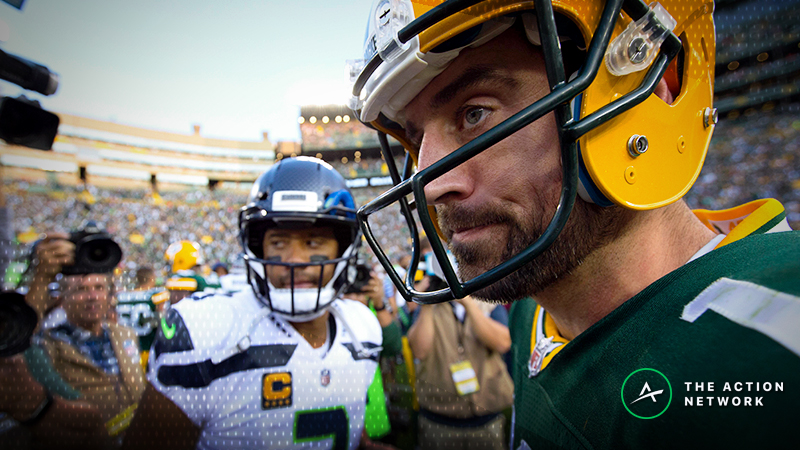 Packers-Jets Betting Line off the Board Due to Latest Aaron Rodgers News article feature image