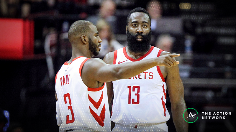 Rockets-Spurs Betting Guide: When Will Houston Turn Things Around? article feature image