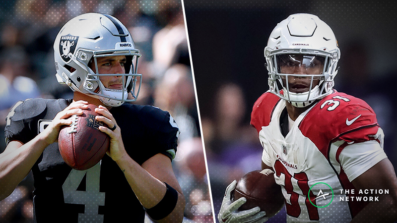 Raiders-Cardinals Betting Preview: Can You Trust Arizona to Cover as a Favorite? article feature image