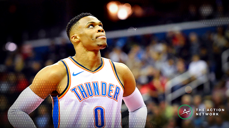 Thunder-Nuggets Betting Preview: Will OKC Cover as a Road Favorite? article feature image