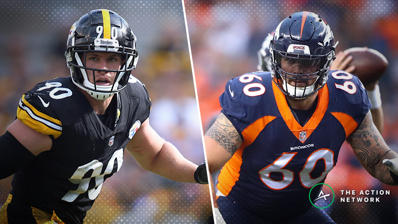 Schwartz's Trench Report: What I'm Betting in Steelers-Broncos article feature image