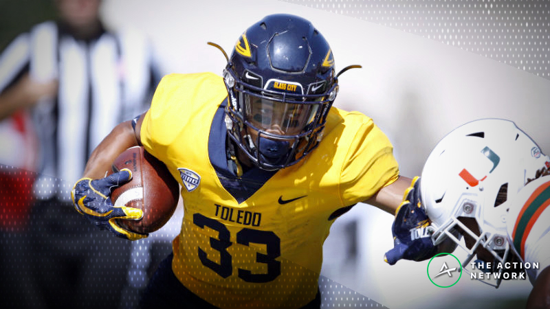 Toledo-Kent State Betting Preview: Rockets Have Shredded Bad Teams article feature image