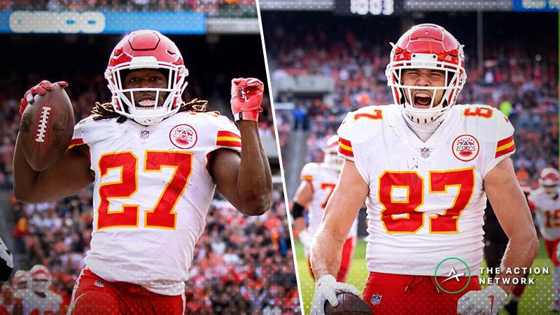 Top Week 9 Fantasy Football Performers: Kareem Hunt and Travis Kelce Dominate, More article feature image
