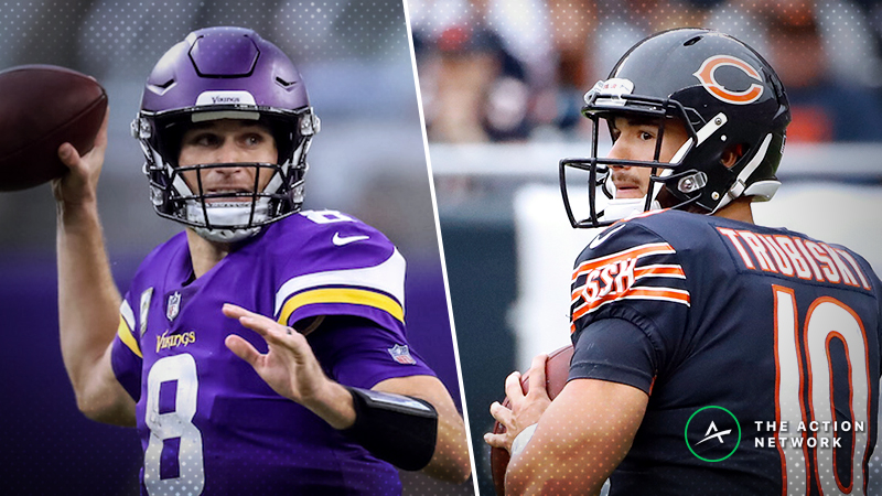 Vikings-Bears SNF Betting Preview: Will Chicago Make it 4 Straight? article feature image