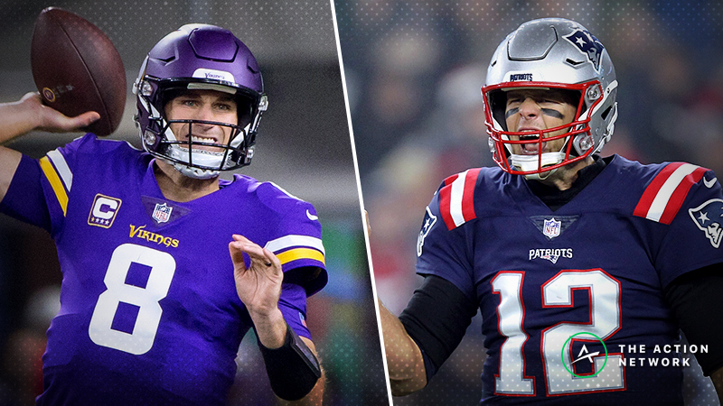 Vikings-Patriots Betting Preview: A Cousins-Brady Shootout Brewing? article feature image