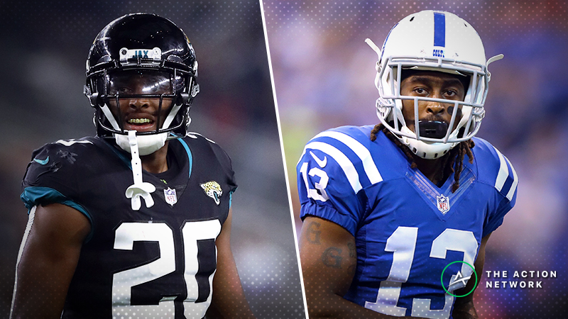 NFL Week 10 WR/CB Matchups: Will Jalen Ramsey Lock Down T.Y. Hilton Again? article feature image