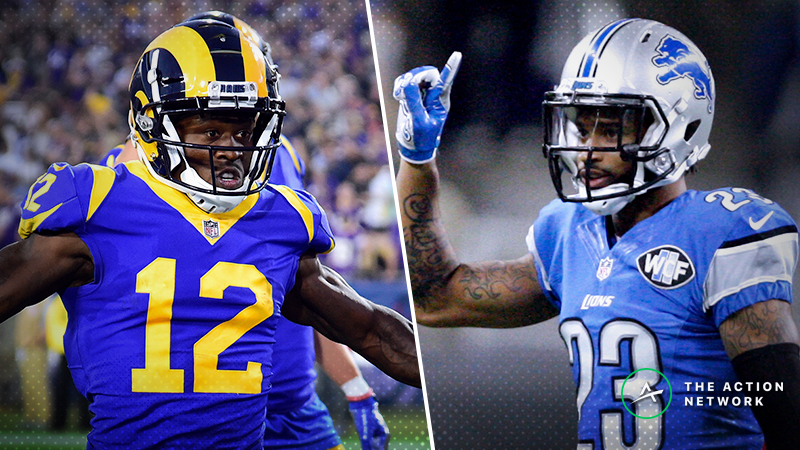 NFL Week 13 WR/CB Matchups: Will Darius Slay Lock Down Brandin Cooks? More Shadow Dates article feature image
