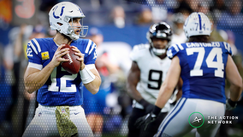 Schwartz's Trench Report: Why I'm Betting Colts-Jaguars in Week 13 article feature image