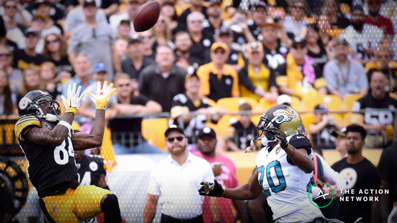 NFL Week 11 WR/CB Matchups: Will Antonio Brown Toast Jalen Ramsey and the Jaguars Again? article feature image