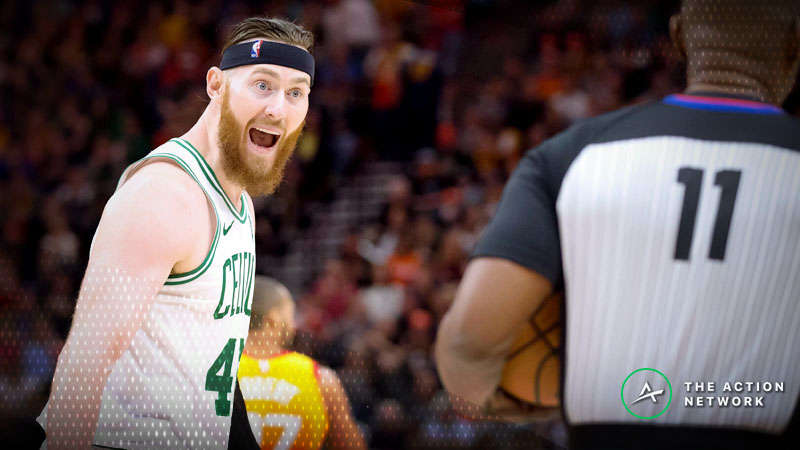 Boston's Big Problem: Aron Baynes' Numbers Reveal a Startling Trend for Celtics Smallball article feature image