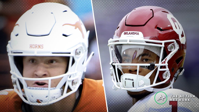2018 Big 12 Championship Game Odds: Tracking Texas-Oklahoma Betting article feature image
