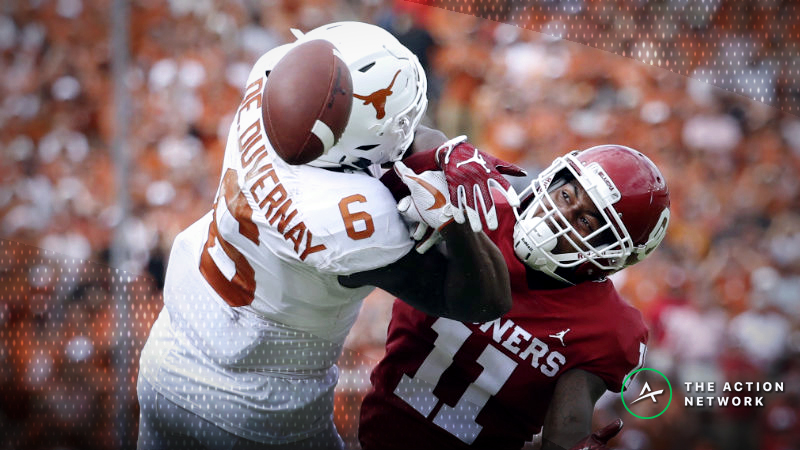 Big 12 Championship Game Betting Odds: Oklahoma-Texas Opening Point Spread article feature image