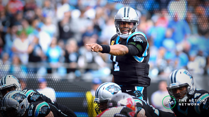 NFL Week 11 Fantasy QB Breakdown: Is Cam Newton Too Risky vs. Lions? article feature image