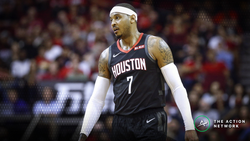 Philadelphia 76ers Favored to Land Carmelo Anthony article feature image