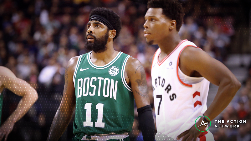 NBA Sharp Report: Pros Betting Raptors-Celtics, Blazers-T'Wolves Friday Night article feature image