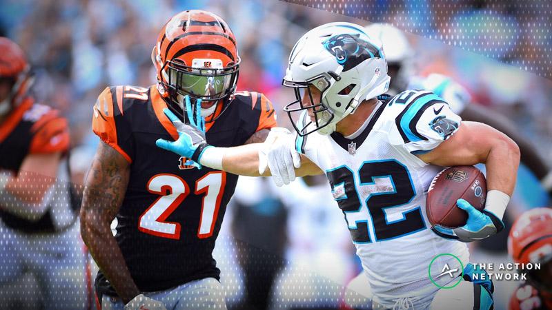 NFL Week 9 Fantasy RB Breakdown: Christian McCaffrey in Smash Spot article feature image