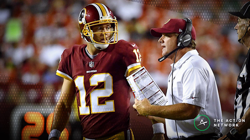 Redskins-Cowboys Betting Preview: Can Colt McCoy Keep Washington Close? article feature image