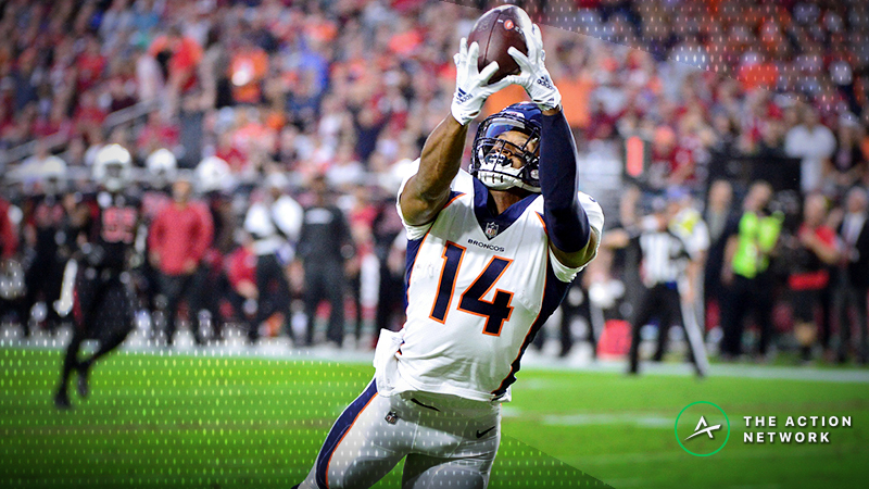 NFL Week 9 Fantasy WR Breakdown: Courtland Sutton Season Has Begun article feature image