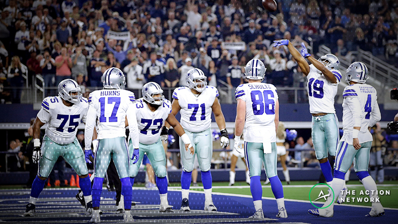 Saints-Cowboys Betting Odds: Tracking Thursday Night Football Line Moves article feature image