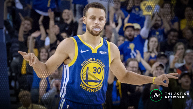 NBA Sharp Report: Wiseguys Fading Warriors Thursday Night article feature image