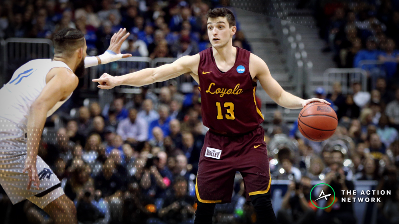 CBB Sharp Report: Wiseguys Hitting Nevada-Loyola Chicago, 2 Other Games article feature image