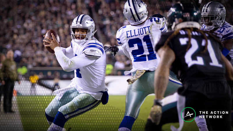 Cowboys-Falcons Betting Preview: Will The Cowboys Keep Rolling in Atlanta? article feature image
