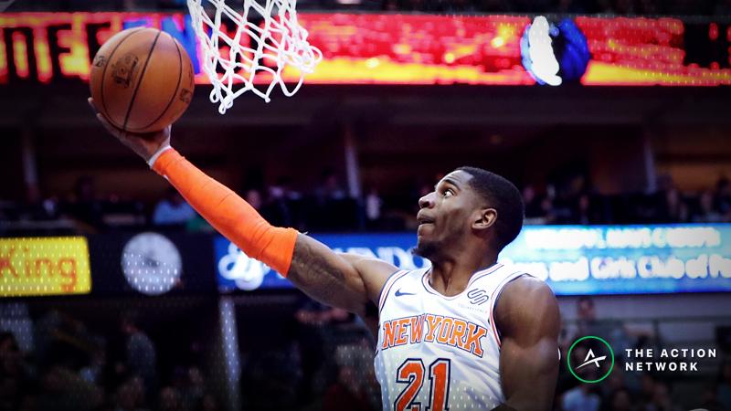 Sunday's Best NBA Player Props: Betting Damyean Dotson Points, LaMarcus Aldridge Rebounds article feature image