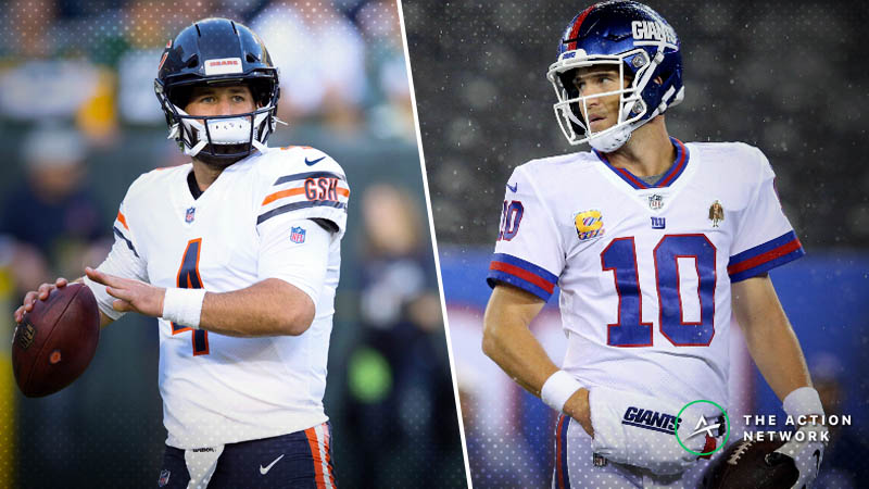 Bears-Giants Betting Preview: Will Eli Muster Enough Offense to Cover? article feature image