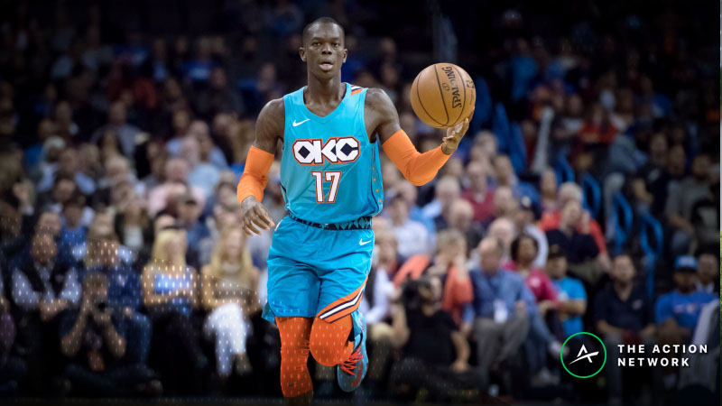 Monday's Best NBA Player Props: Betting Dennis Schroder Points, More article feature image