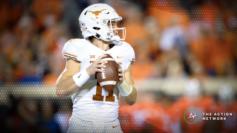 College Football Sharp Report: Pros Betting Texas-Texas Tech, 4 Other Week 11 Games article feature image