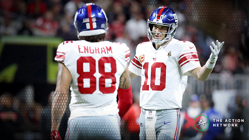 Best Giants-49ers MNF Props: Evan Engram Over/Under 4 Receptions? article feature image