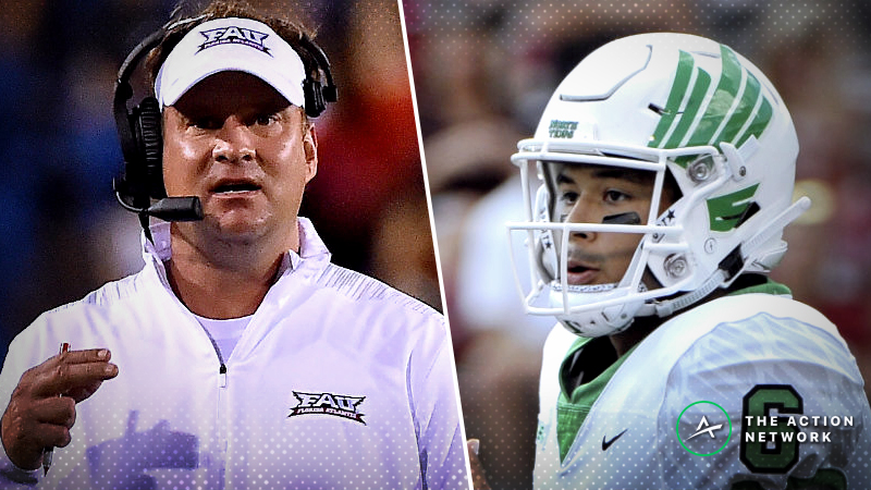 Florida Atlantic-North Texas Betting Preview: Can Mean Green Make History? article feature image