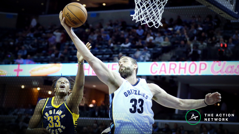 Monday's Best NBA Player Props: Betting Marc Gasol Rebounds