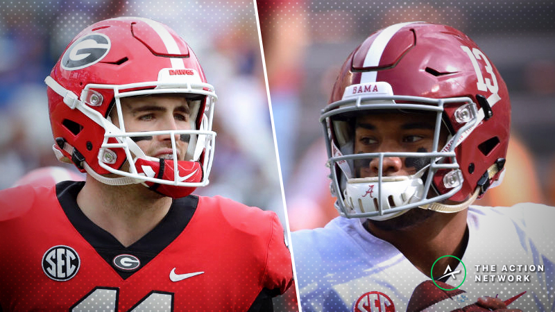 2018 SEC Championship Game Odds: Tracking the Georgia-Alabama Betting Line article feature image