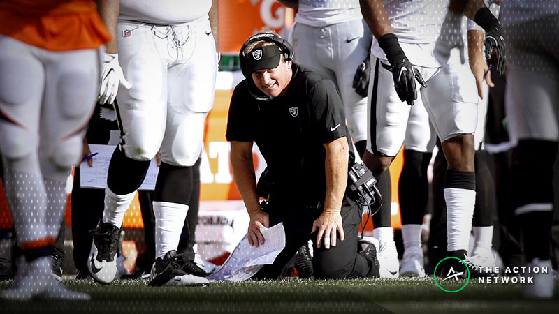 2018 Raiders Among Worst Against-the-Spread NFL Teams of Past 15 Years article feature image