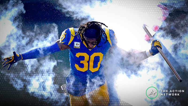 Late Money Moving Chiefs-Rams Line for Monday Night Football article feature image