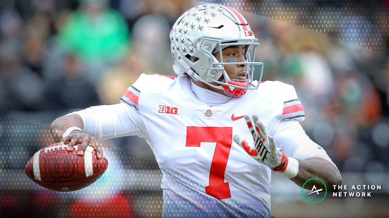 College Football Sharp Report: Pros Betting Ohio State-Maryland, 3 Other Games article feature image