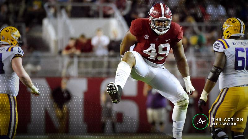 Freedman: Alabama-LSU Matchup Has Deep Draft Talent article feature image